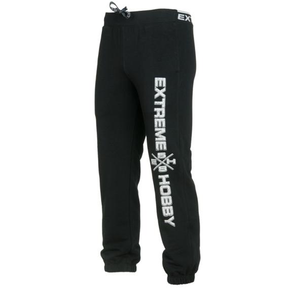 Extreme Hobby Spodnie dresowe On Every Streets Czarne