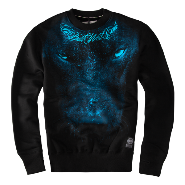 Pit Bull Bluza Crewneck BLUE EYED DEVIL II Czarna