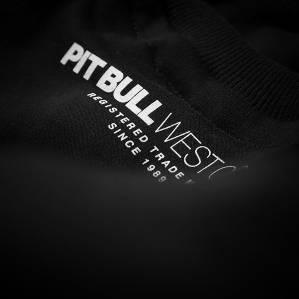 Pit Bull Bluza bez kaptura BOXING Czarna