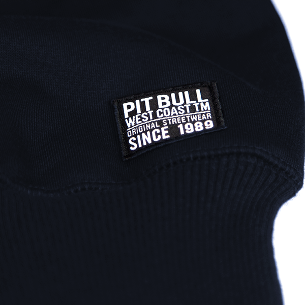 Pit Bull Bluza bez kaptura CLASSIC LOGO Granatowa