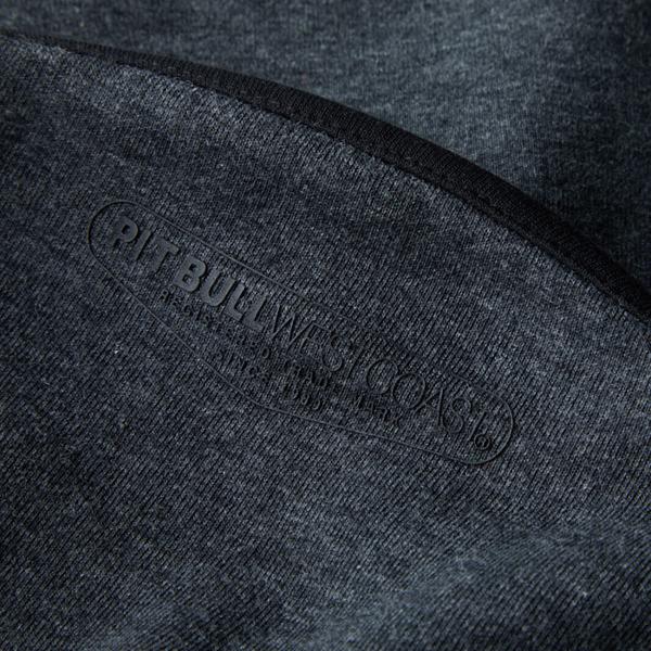 Pit Bull Bluza rozpinana z kapturem LANDIS Grafitowa