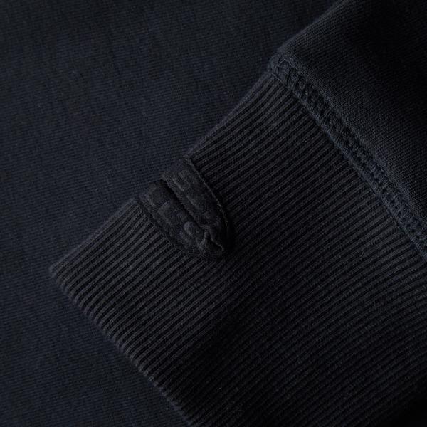 Pit Bull Bluza rozpinana z kapturem LOGAN Czarna