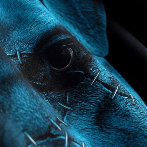 Pit Bull Bluza z Kapturem BLUE EYED DEVIL IX Czarna