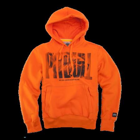 Pit Bull Bluza z kapturem Orange Dog