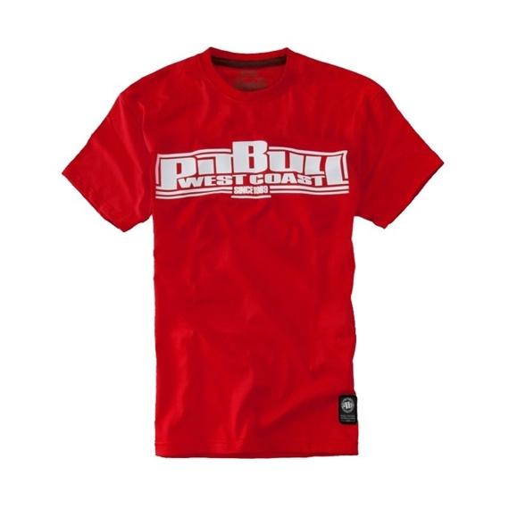 Pit Bull Koszulka Basic Czerwona