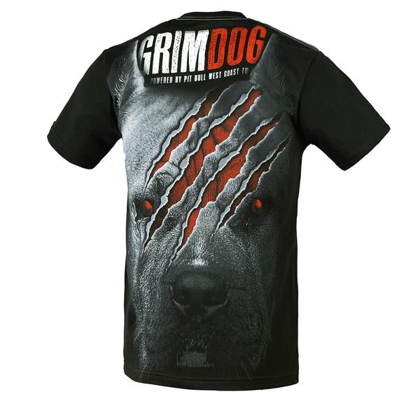 Pit Bull Koszulka GRIM DOG Czarna