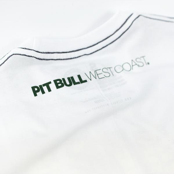 Pit Bull Koszulka PINEAPPLE LOGO Biała