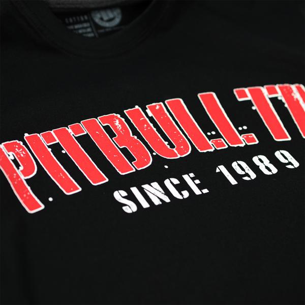 Pit Bull Koszulka WELCOME TO GANGLAND Czarna