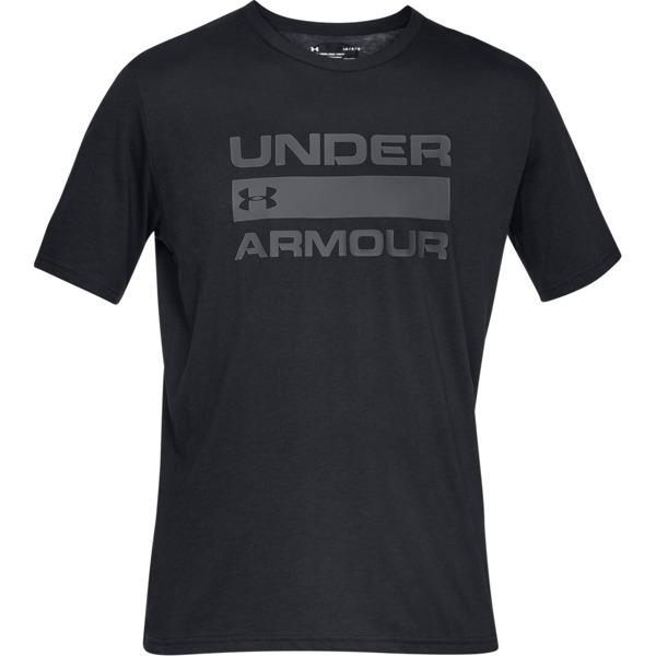 Under Armour Koszulka TEAM ISSUE WORDMARK Czarna